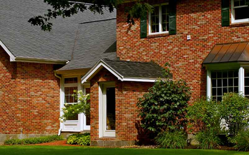 brick stone front homes by laquerre masonry